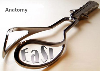 Image showing medical equipment with the words 'EaSI' and 'Anatomy'.