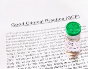 Page of text entitled Good Clinical Practice