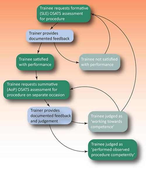 Flow chart illustrating OSATS process